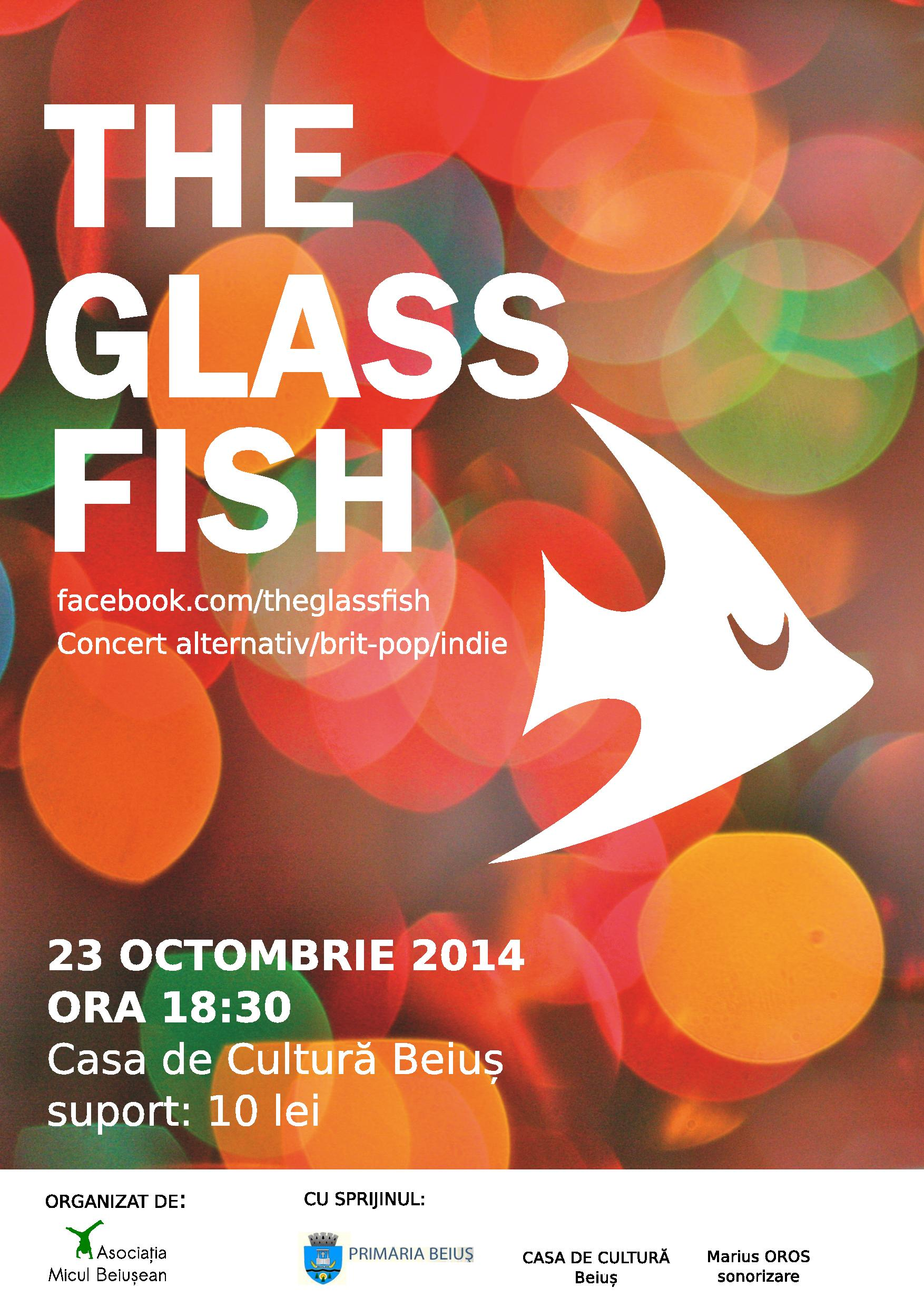 CONCERT The Glass Fish