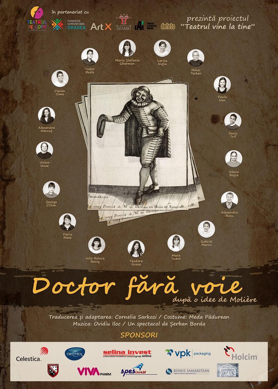 Spectacol de teatru : Doctor fără voie