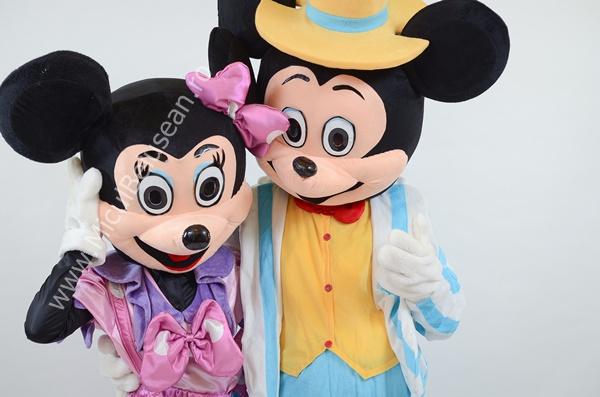 Minnie &Mickey Mouse