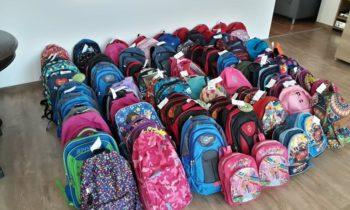 """Campania """"Ajută un copil să meargă la școală"""" a adus bucurie pentru 85 de copii"""