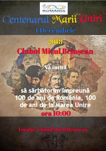Centenarul Marii Uniri. Ziua Națională a României