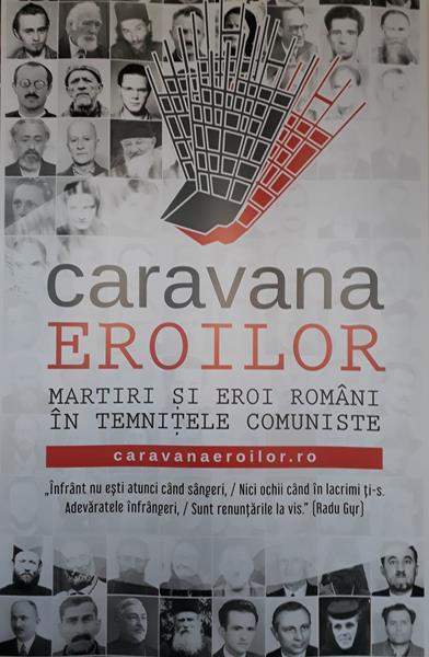 Expoziția CARAVANA EROILOR