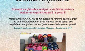 Ajută un copil să meargă la școală – 2019!