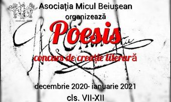 POESIS – Concurs de creație literară pentru gimnaziu și liceu